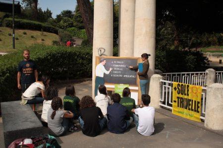 volontari di greenpeace