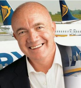 David O'Brien, Chief commercial officier di Ryanair