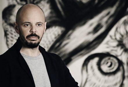 Lo scrittore Fabio Geda