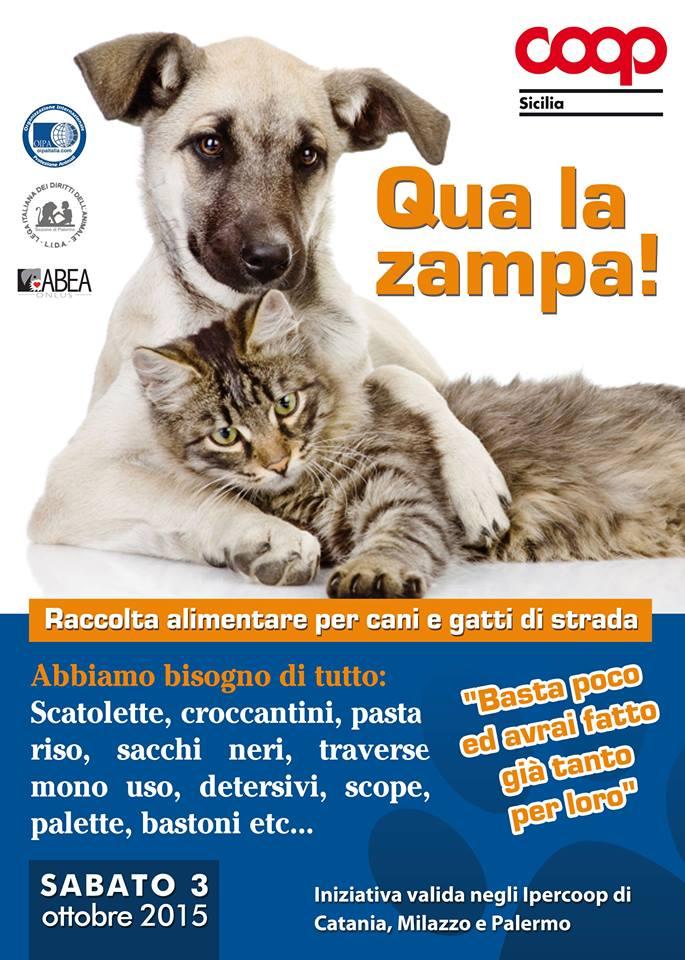 La locandina dell'iniziativa di Coop Sicilia
