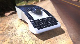 Il prototipo dell'auto solare Archimede Solar Car