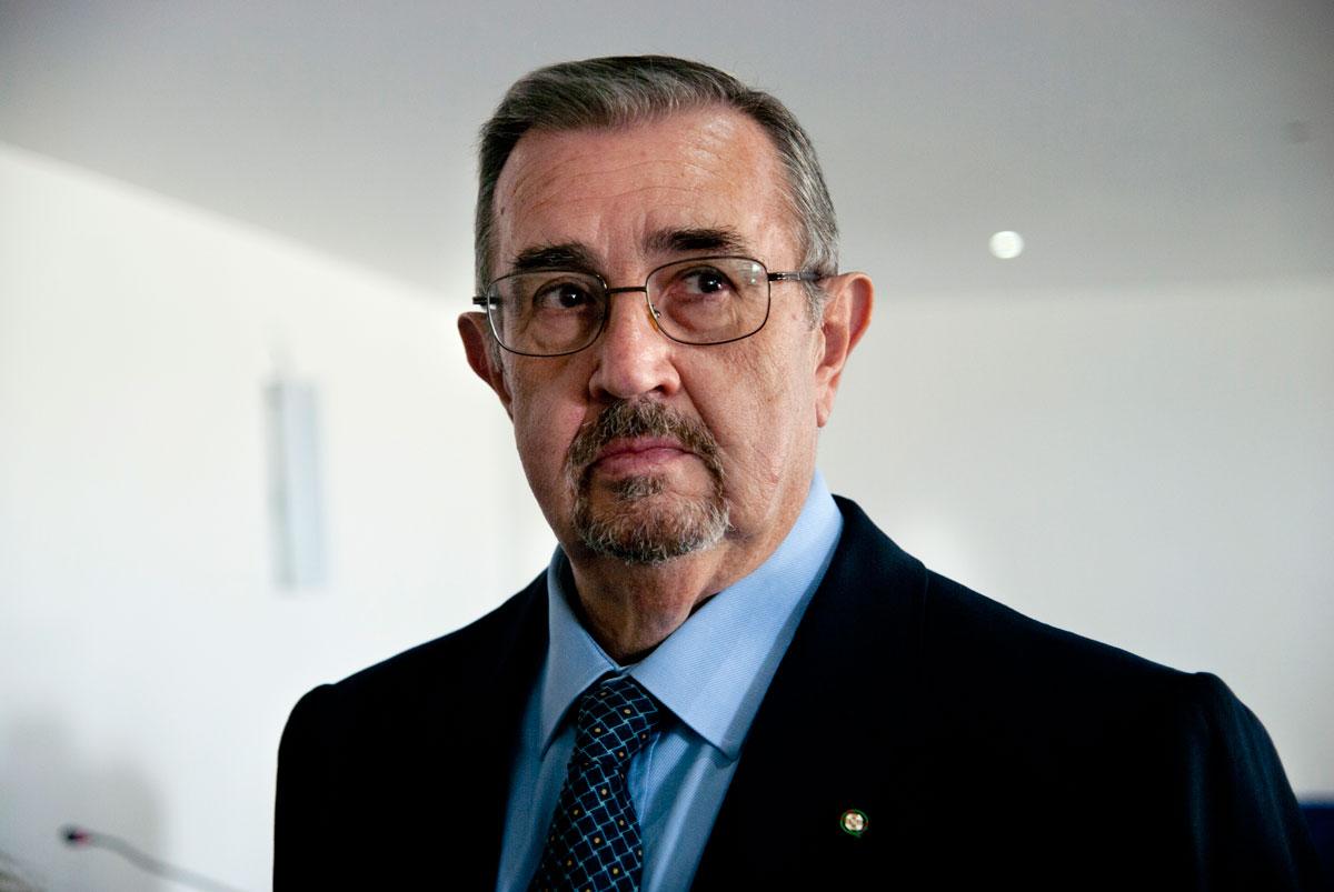 Nella foto il generale Angiolo Pellegrini. Foto Brunella Bonaccorsi