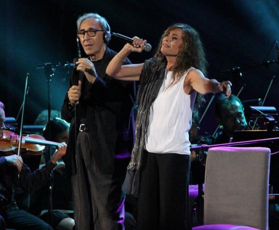 Franco Battiato e Alice insieme in concerto