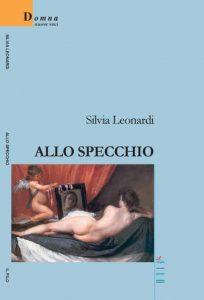 """La copertina del libro di Silvia Leonardi """"Allo specchio"""""""