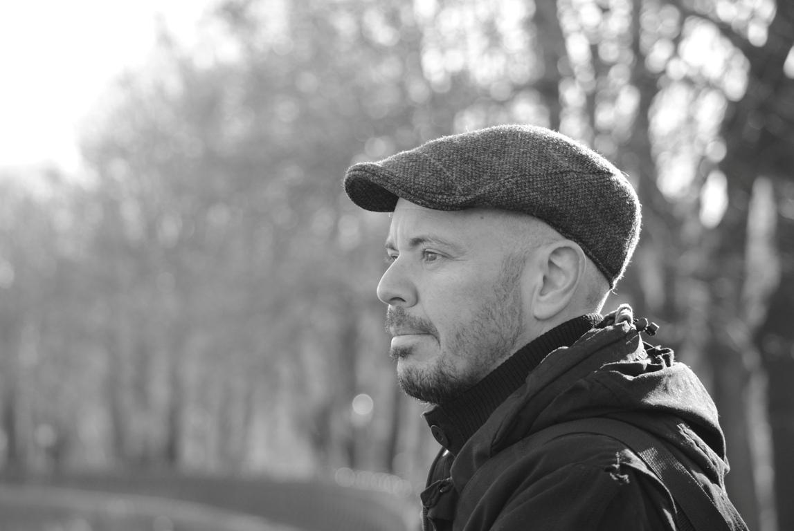 Nella foto lo scrittore Fabio Geda