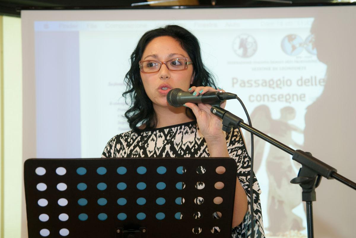 Nella foto Francesca Tremoglie. Foto Brunella Bonaccorsi