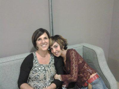 Lorena Salerno e Rossana Bonafede in teatro
