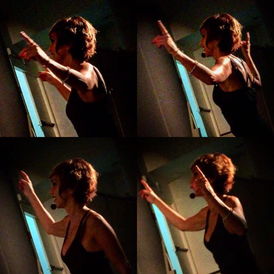 Rossana Bonafede in teatro con L'amore è salvo