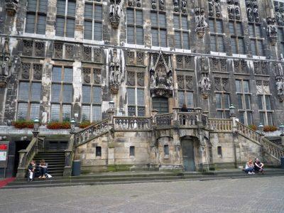 Germania ovest. Aquisgrana palazzo del Municipio. Foto Caterina Sciuto