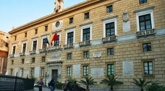 Palazzo Pretorio sede del Comune di Palermo
