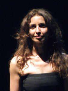 L'artista Elvira Fusto