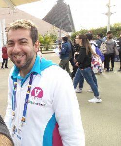 Simone Russo volontario Expo