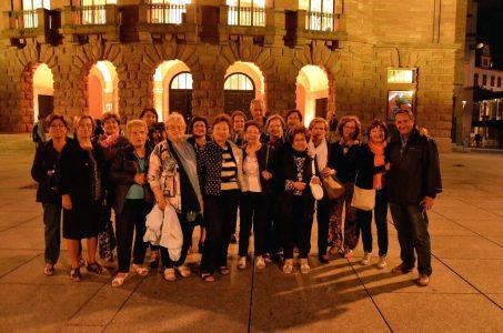 Il gruppo di ragusani che ha fatto il viaggio in Germania ovest.