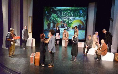 CATANIA 10/11/2015 : Spettacolo ALLA FINE DEL TEMPO DELL'ULIVO di Piero Sammataro, dal 14 novembre al Piccolo Teatro della Città
