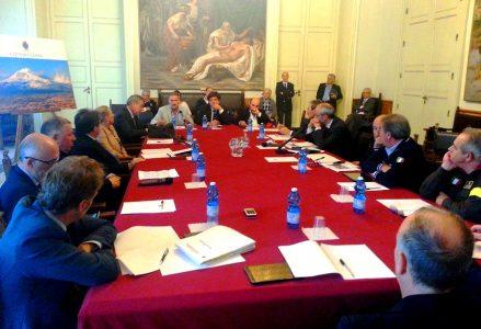 protezione civile riunione rischio sismico