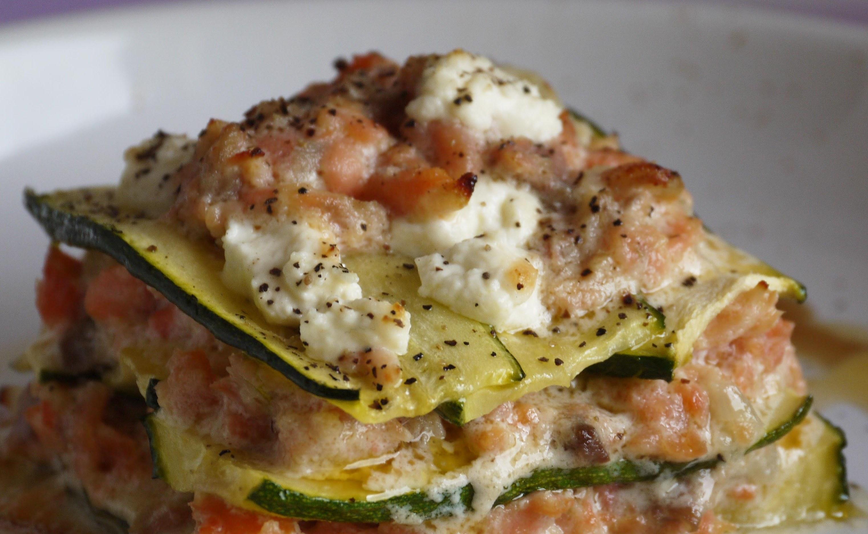 Idee per il pranzo di capodanno lasagne zucchine e salmone for Idee per pranzo