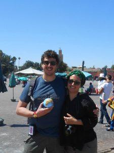 Stefano e Daniela a Marrakesch