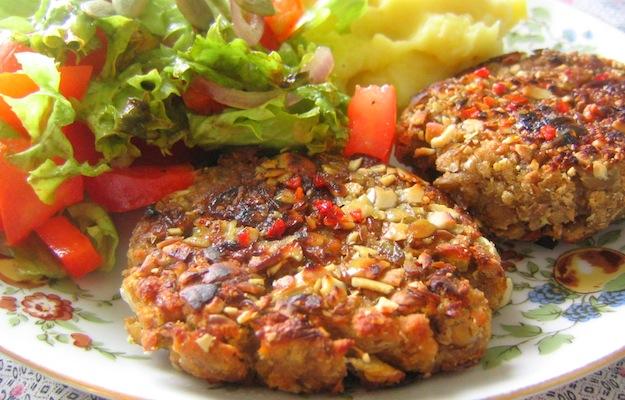 polpette di tofu e seitan molto usati nella cucina vegana