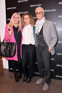 Da sinistra Mara Venier, Elena Mirò e Giampaolo Barbieri