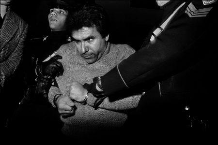 L'arresto del feroce boss mafioso Leoluca Bagarella Palermo, 1980 Courtesy Letizia Battaglia