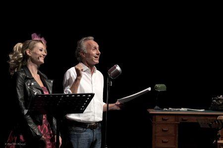 Marco Travaglio e Giorgia Salari