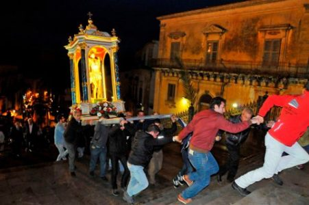Settimana santa a Ragusa Ibla