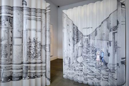 Pietro Ruffo, installazione Beslan, Fondazione Puglisi Cosentino (ph. D'Aguanno)
