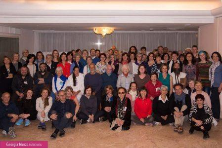 I partecipanti al covegno sullo yoga. Foto Giorgia Nuzzo