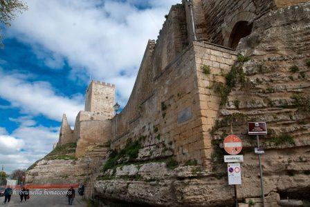 Il castello di Lombardia a Enna alta. Foto Brunella Bonaccorsi