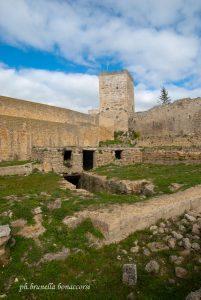 La torre all'interno del castello