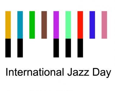 Il logo della giornata del jazz