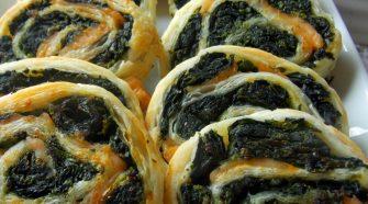 pasta sfoglia spinaci e gamberi