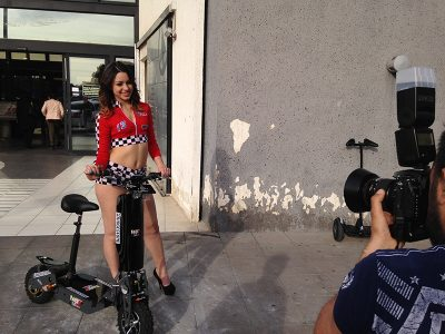 Lo shooting di Donne&Motori 2016
