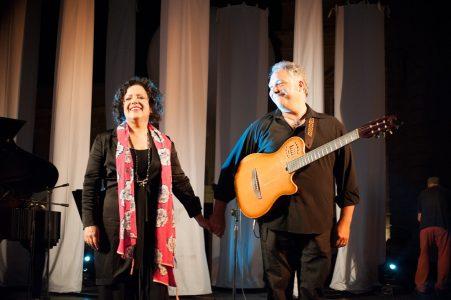 Antonella Ruggiero e Francesco Buzzurro