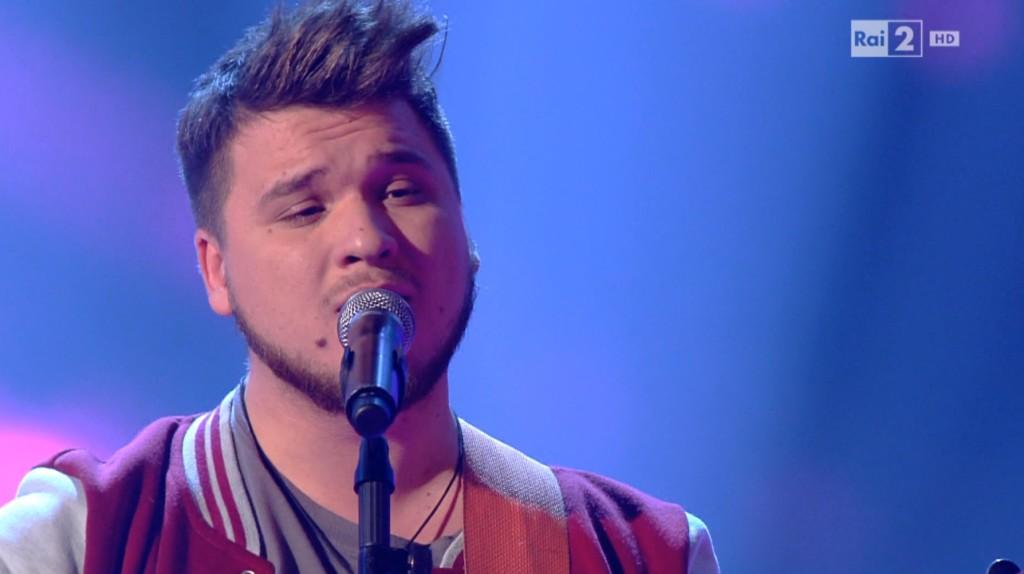 Samuel Pietrasanta finalista a The Voice of italy