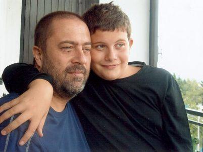 Ugo Parenti e il figlio Francesco