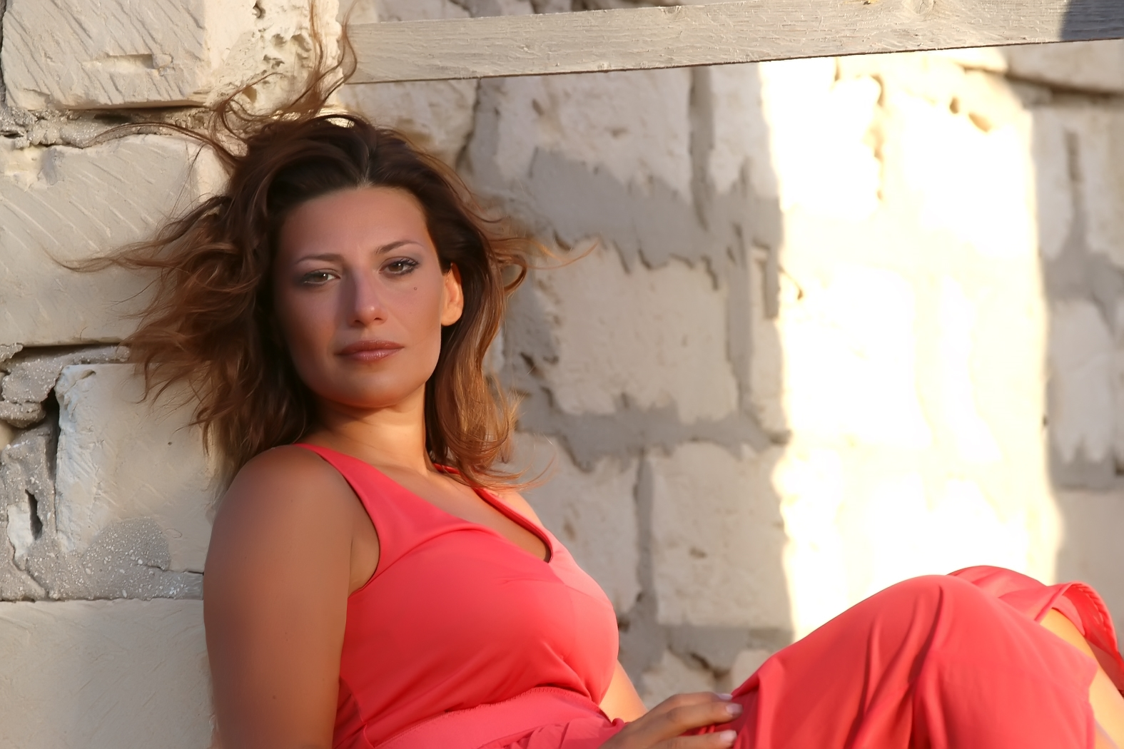 L'attrice Valeria Contadino. Foto Antonio Parrinello