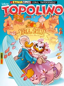 La copertina di Topolino dedicata al Gattopardo