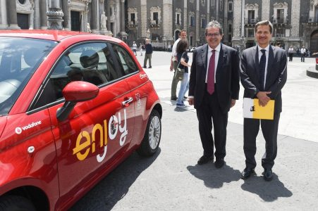 car sharing per la prima volta a Catania