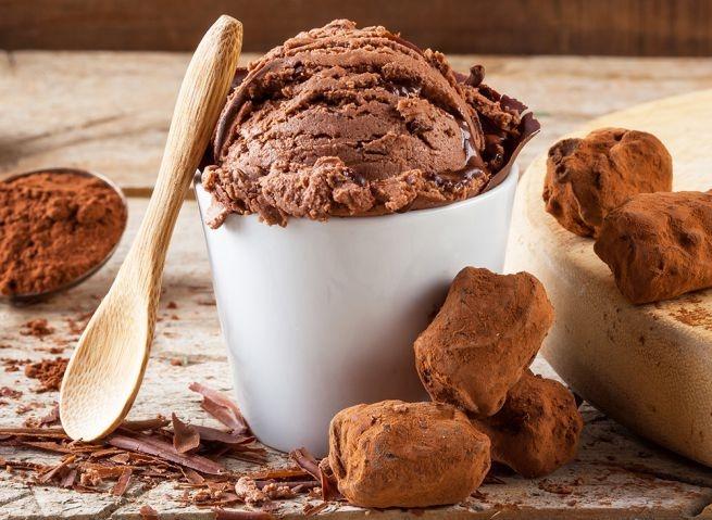 gelato vegano cioccolato