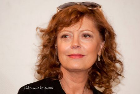 Susan Sarandon. Foto Brunella Bonaccorsi