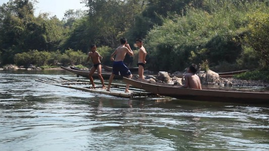 The Raftmakers,il fiume Mekong in Laos