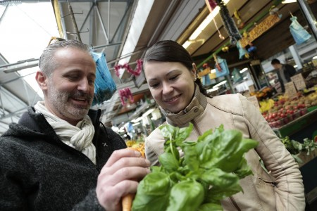 Aurelio Carraffa al mercato