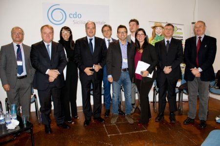 Expandere 2016. I relatori del convegno sull'agroalimentare. Foto Brunella Bonaccorsi