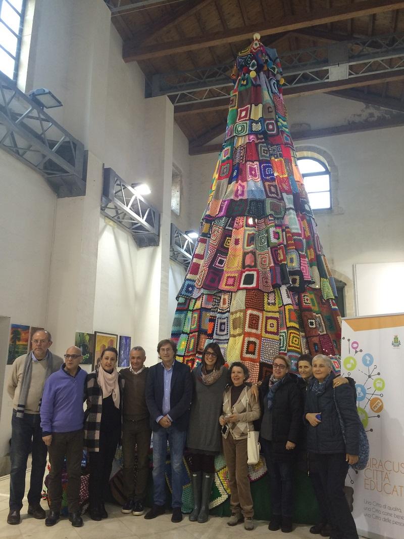 albero di lana