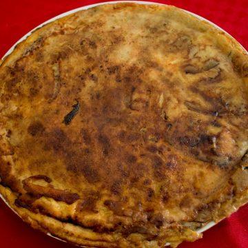 torta di melanzane parmigiana di melanzane