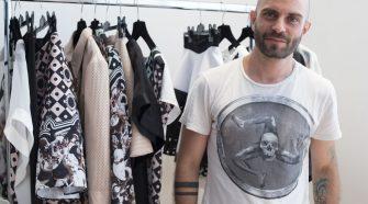 Lo stilista Sergio Daricello