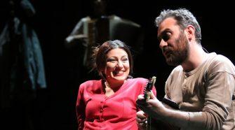 Valeria Contadino e Mario Incudine. Foto Antonio Parrinello