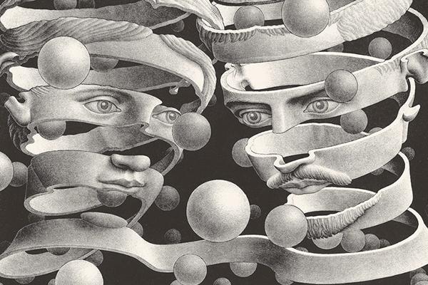 Per la prima volta in sicilia escher approda a catania for Escher metamorfosi