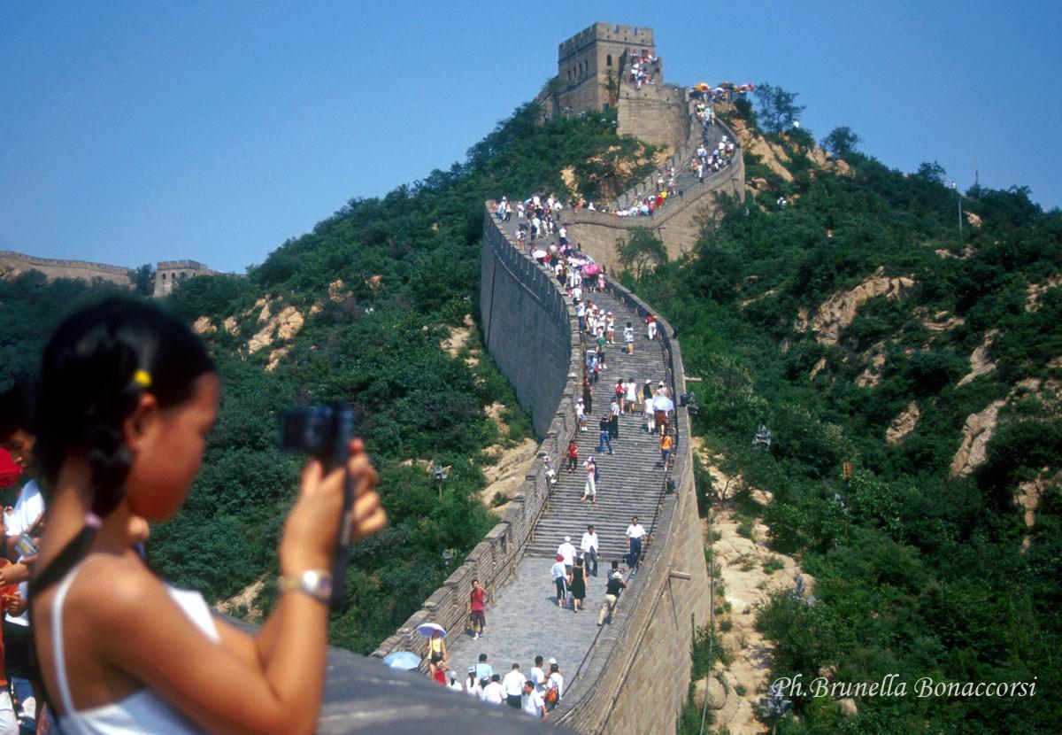 pechino grande muraglia. foto brunella bonaccorsi